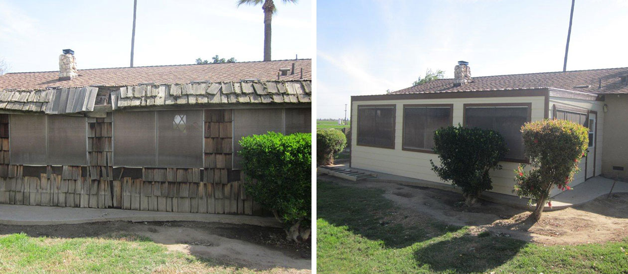 Lemoore, CA Construction - Before & After - Insurance - Fire Damage